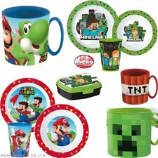 KID CHILDRENS STOR LIKE SUPER MARIO MINECRAFT TNT TABLEWARE ACCESSORIES PS4 XBOX