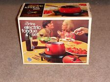 Cortina Electric Fondue Set, In Original Packaging.