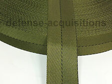 1 23/32 Inch MilSpec Military Webbing MIL-W-4088 OD-7