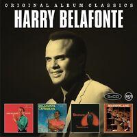 HARRY BELAFONTE - ORIGINAL ALBUM CLASSICS  5 CD NEW