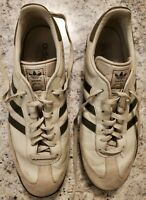Adidas Samba OD Green stripes suede leather athletic indoor soccer shoes mens 13