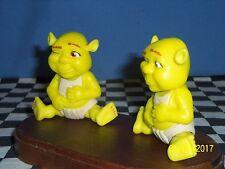 McDonalds Happy Meal: Shreck Babies sitting & winking.