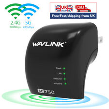 Wavlink AC750 Dual Band Wifi Wireless Range Extender Repeater Signal Booster Wps