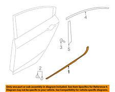 KIA OEM 14-16 Forte Rear-Window Sweep Belt Felt Molding Right 83220A7000