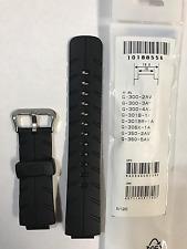 Casio Original Band G-Shock G-300 G-301B G-301BR G-306X G-350  Black Strap G300