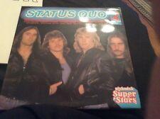 RARE STATUS QUO DOUBLE L.P. 1980.  'STATUS QUO - SUPER STARS.'  SSD 8035.  EX+