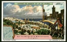 Tangier Morocco Views North Africa 1920 Trade Ad Card