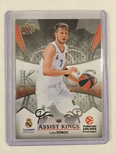 2017-18 Upper Deck EuroLeague Luka Doncic Assist Kings Pre Rookie RC