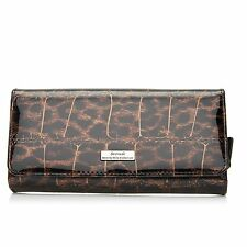 Serenade Leopard Print Large Leather Wallet (WH7-01)