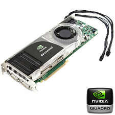 NVIDIA Quadro FX 5600 PCIe 1.5GB scheda video Mac 2008-2012 CAD/3D grafica Pro
