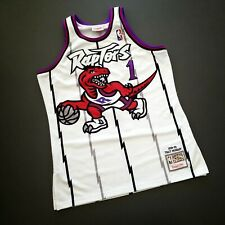 100% Authentic Tracy Mcgrady Mitchell Ness 98 99 Raptors Jersey Size 44 L Mens
