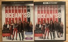 OCEAN'S 8 4K ULTRA HD + BLU RAY 2 DISC SET WITH SLIPCOVER FREE SHIPPING