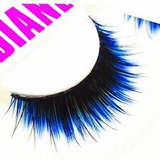 Thick Natural Makeup Tool False Eyelashes Eye Lashes Extension Blue-black