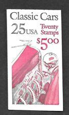 "US SCOTT BK #164 ""CLASSIC CARS"" CV  $13.50"