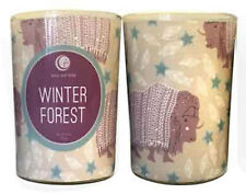 Vermont Soy Way Out Wax Holiday Candle Winter Forest Glass Tumbler 7 oz