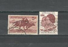 R2777 - AUSTRALIA 1962 - LOTTO ALTI VALORI N°274,285 - VEDI FOTO