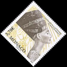 Monaco 2012 Nefertiti/Statues/Carvings/Heritage/History/Egyptology 1v (mc1138)