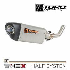Toro Tri-Hex Stainless/Carbon Exhaust-Vespa GTS/GTV GT/125/250/300