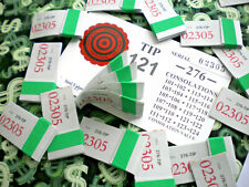 [1] Bag 276-P4 Regular *Not Sure* Jar Tip Board (101-124) Bingo Pull Tab Tickets