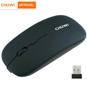2.4GHz Wireless Optical Mouse USB Rechargeable RGB Cordless Mice For PC Laptop