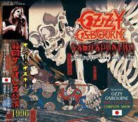 OZZY OSBOURNE / GASHADOKURO 2CD SUN PALACE FUKUOKA JAPAN 1996 COMPLETE