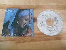 CD Ethno Khadja Nin - Samba Latino (2 Song) MCD BMG ARIOLA