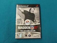 Madden 07 Hall o Fame PlayStation 2 Video Game Released 2006 Online 014633166194