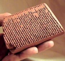 ENUMA ELISH Sumerian Epic Of Creation cuneiform tablet museum replica