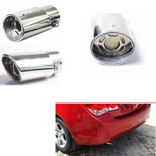 1X 304 Stainless Steel Exhaust Tips Tail Pipe for Car 1.5-2.2 Exhaust Tail Pipe