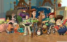 Toy Story Cast Edible Birthday Cake Image Topper Frosting Icing Sheet