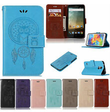 For Xiaomi Redmi 3s 3 Pro 4 4A 4X Owl carving Wallet PU Leather Flip Case Cover