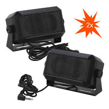 2X RoadPro RPSP-15 External Police Scanners Speakers 5W 8Ohm Noice-Cancelling