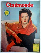 ►CINE MONDE 1030/1954-JANE RUSSELL-SHELLEY WINTERS-SILVANA MANGANO-MARTINE CAROL