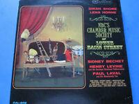 NBC's Chamber Music Society Of Lower Basin Street  album 33 1/3 rpm