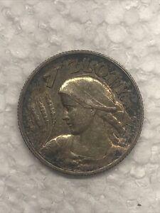 1925 Poland Silver 1 Zloty