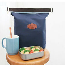 Tote Portable Insulated Pouch Cooler Waterproof Food Storage Bag Navy