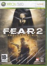 Xbox 360 F. E. A.R.2 - Fear 2 - Projet Origin Neuf Scellé Italien Pal 2009
