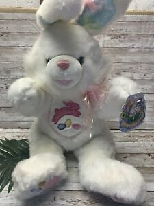 "NWT Dan Dee Hoppy Hopster 24"" Plush Large Easter Bunny Rabbit White Pastel Toy"