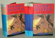 Harry Potter And The Goblet Of Fire, J.K. Rowling, HB/DJ, 2000 - 1st/ 2nd Print