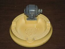 VINTAGE CIGARETTE TOBACCO GE GENERAL ELECTRIC CERAMIC ASHTRAY