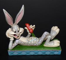 Jim Shore Warner Bros Looney Tunes Bugs Bunny Cool As A Carrot Figurine New