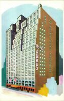 Vintage Postcard - Abbey Hotel 51st Street New York NY Un-Posted #1462