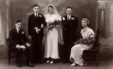 Preston Studio Photo. Wedding Group by Phil Waine, 56 Friargate, Preston.