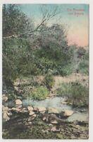 South Africa postcard - The Fountains near Pretoria (A80)