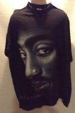 Soul Cat Tupac 1971-1996 3XL Black T Shirt