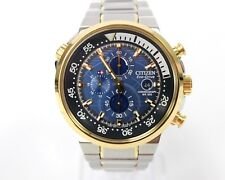 Citizen Men's Chronograph Endeavor Eco-Drive Two-Tone Watch CA0444-50L
