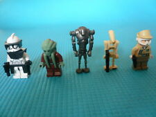 5 minifigurines LEGO star wars - lot n°14 - TBE