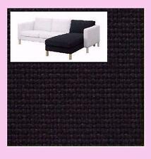 IKEA Karlstad Add-On CHAISE Lounge Cover NIP Korndal Dark Gray NEW Charcoal NEW