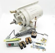 220v/2850rpm SEWING MACHINE CLUTCH MOTOR 2 PHASE SUPPLY MOUNTING BOLT ON-OFF