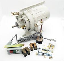 220v/2850rpm motor de embrague de máquina de coser fuente de fase 2 Perno de montaje on-off